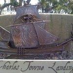 Entrance to Charles Towne Landing