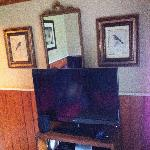 Northern Flicker sitting room tv