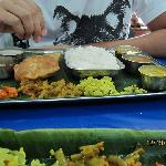 chennai kitchen thali - how i miss you...