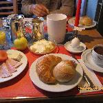ある日のお朝食