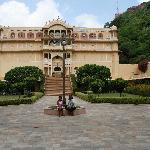 Entrance to Samode Palace