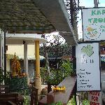 The Buddah statue outside Karon Tropics