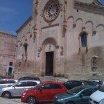 la facciata del Duomo di Matera