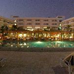 Gala dinner poolside at the Ledra Beach