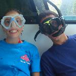 Fun on the dive boat!