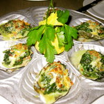 Oyster appetizer was delicious!