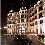 Epoque Hotel building - night view