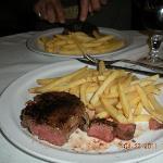 Filet Mignon dinner