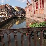 la petite Venise à COLMAR à faire en barque