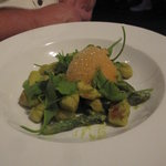Gnocchi with Asparagus & Ginger Foam