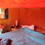 Inside Hut 2