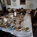 Alltagsgegenstände der Adelsfamilie