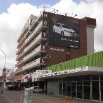 Hotel building.