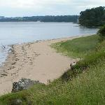 Beach on the Dalmeny Estate