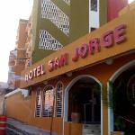 Hotel San Jorge's Front Entrance