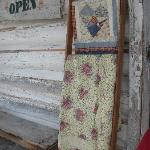 Quilts greeted us at the General Store