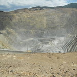 Cool view of the open pit