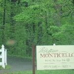 Entrance to Monticello