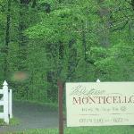 Entrance to Monticello
