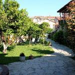 Villa Konak courtyard