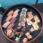 Salmon, Ebi, Tuna, Hot Roll, California Roll, Kani,Unagi