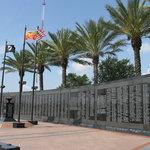 Veteran's Memorial Wall at Jacksonville, FL