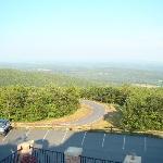 View from Roadies Restaurant