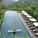 Amazing pool with valley view