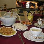 Foods served at Alwen's Cafe of Bohol Plaza Resort