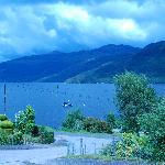 View of Lake outside Rowan House
