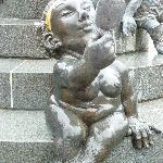 """Aphrodite"" am Beckenrand des Jungbrunnens in Bad Harzbrug"