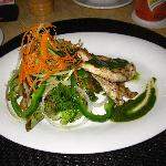 Grilled Chicken Salad from Azaa