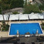 piscine vue du toit
