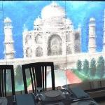 Taj Mahal backdrop