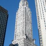 Chrysler Building from E. 44th St/3rd Avenue - morning