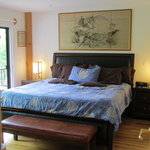 Matsu No Ma - Pine Suite has king size Tempur-pedic bed