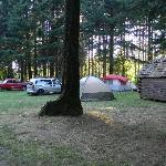 tent sites are not defined