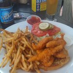 Fresh Hand Breaded Buffalo Chicken Tender Sandwich