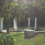The fountain where my boyfriend proposed!