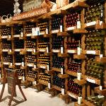 Loved this wall of wine!