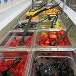 Healthy toppings