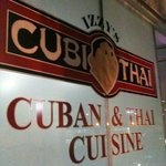 Cuban and Thai!