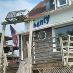 Outside of Shanty on the Shore