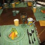 fresh fruit to start your morning