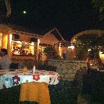 View in main restaurant