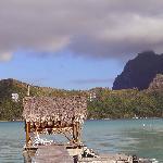 Anlegestelle für das Bootstaxi