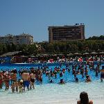 The wave pool - aqua aerobics session
