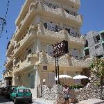 kleines nettes Hotel- das Ideon in Chania
