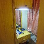 Oddly-placed dresser