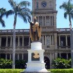 King Kamehamea The Great, Kopie der Originalstatue